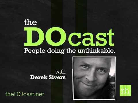 Derek Sivers: Systematizing Friendliness (The DOcast)