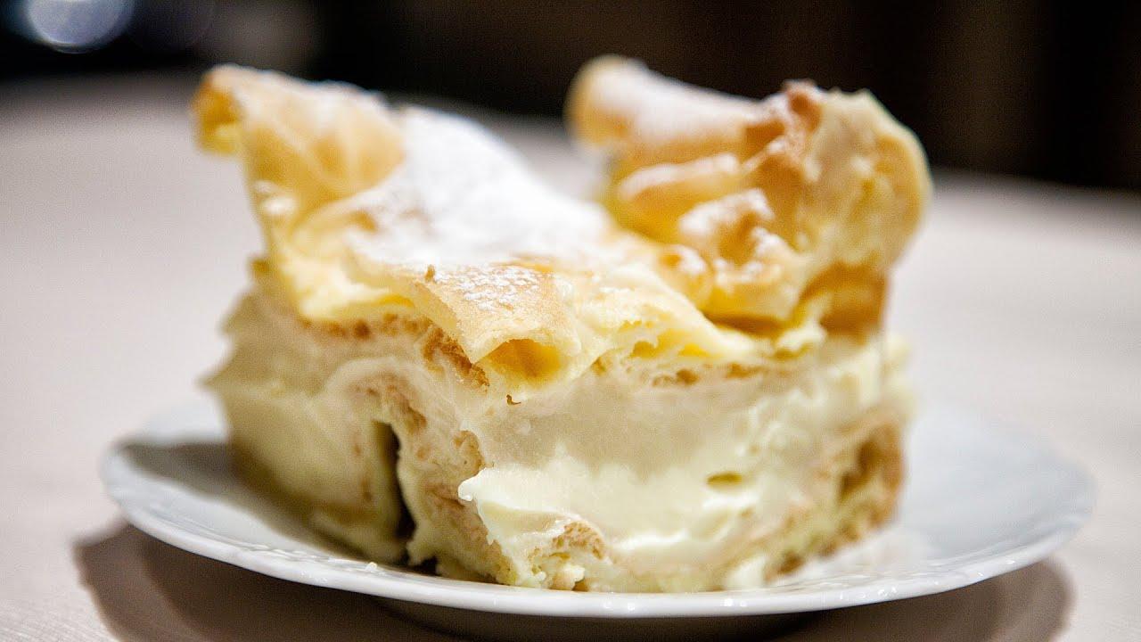 Polish Carpathian Mountain Cream Cake Recipe