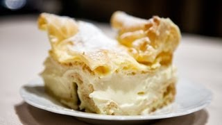 Carpathian Mountain Cream Cake - Karpatka - Ania's Polish Food Recipe #12