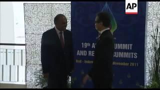ASEAN FMs begin talks ahead of ASEAN summit, photo op
