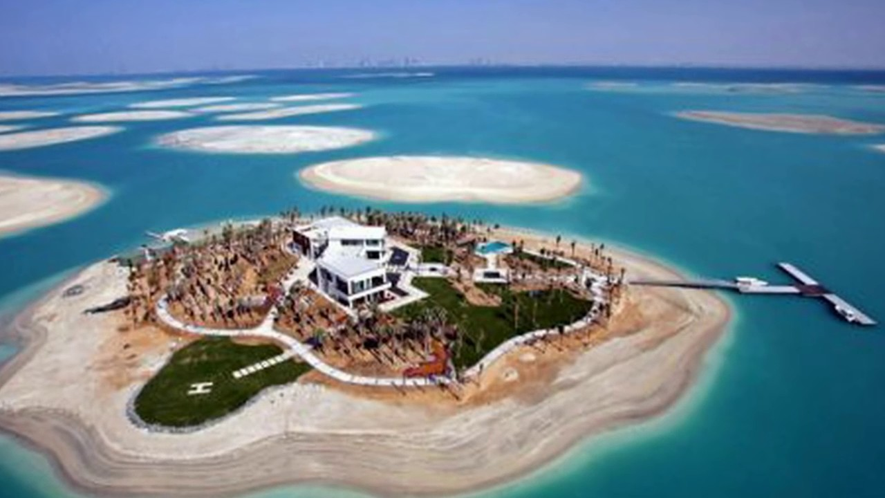 michael schumachers house in world island dubai 2016