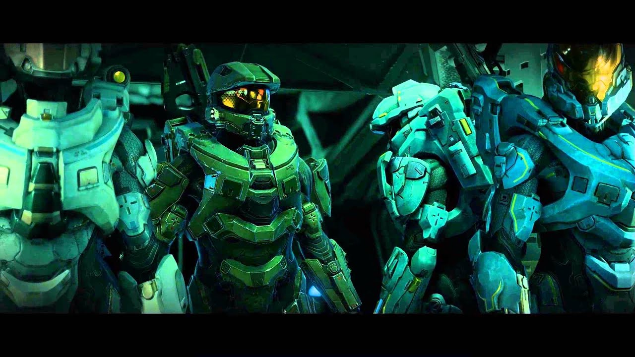 Halo 5 Guardians Blue Team Opening Cinematic Xbox One Shopto