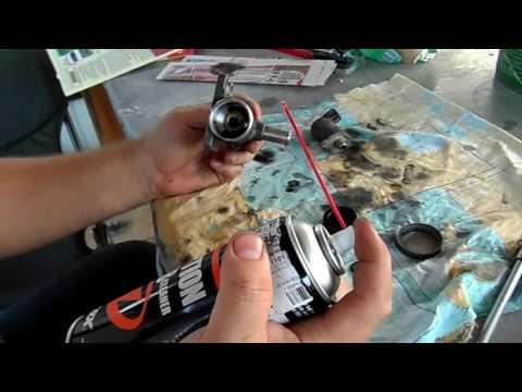 Тест очистителя Gzox Injection & Carb Cleaner