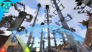 S4E49 Season 5 Info and Contact with the Alpha Tribe ARK Survival Evolved PVP Season
