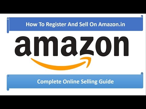 How to register on Marketplace Amazon in to sell your products in Hindi