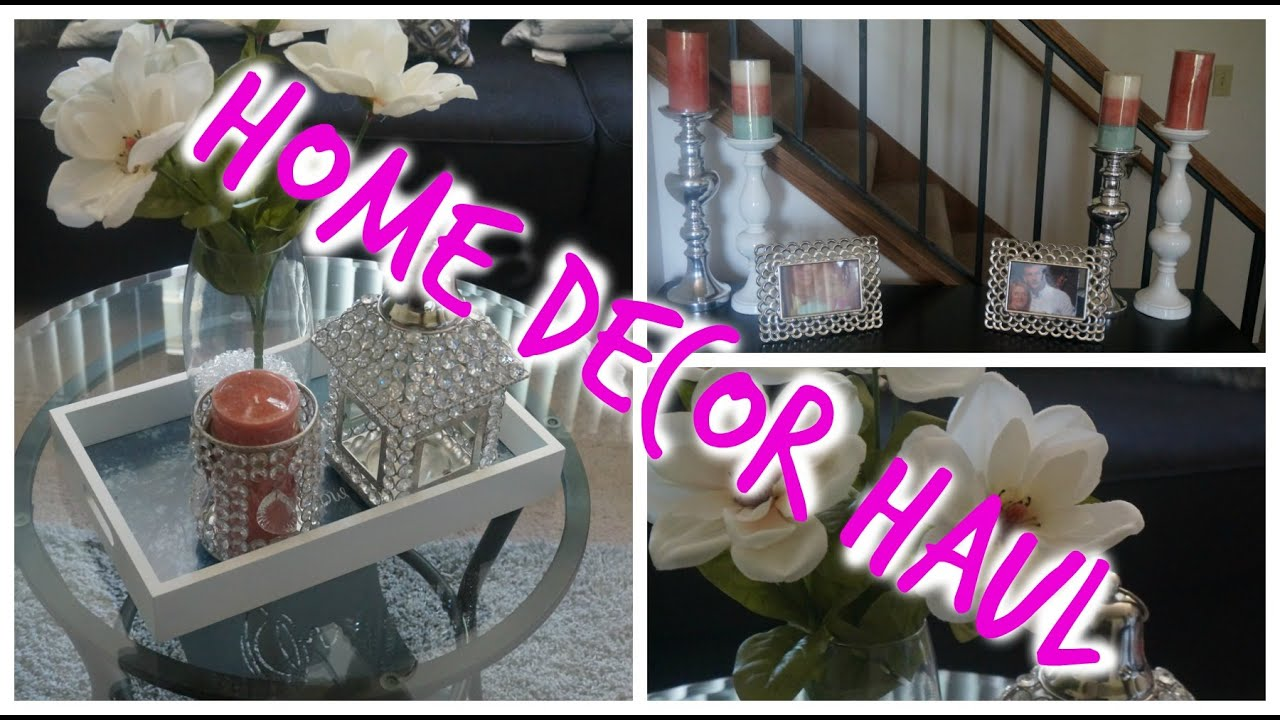Home Decor Haul Home Goods Ross Target Youtube