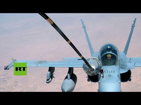 Un caza F18 se estrella cerca de la base aérea de Torrejón de Ardoz