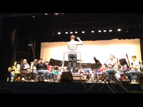 She Will Hang The Night With Stars (Stahl - wind symphony version tr. Pilato)