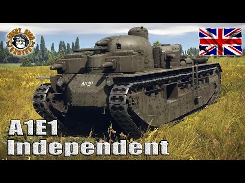 War Thunder: A1E1 Independent, British Tier-1 Premium Heavy Tank