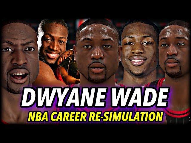 DWYANE WADE'S NBA CAREER RE-SIMULATION   BETTER OR WORSE IN THE MODERN DAY?   NBA 2K20