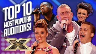 TOP 10 MOST POPULAR AUDITIONS EVER! | The X Factor UK