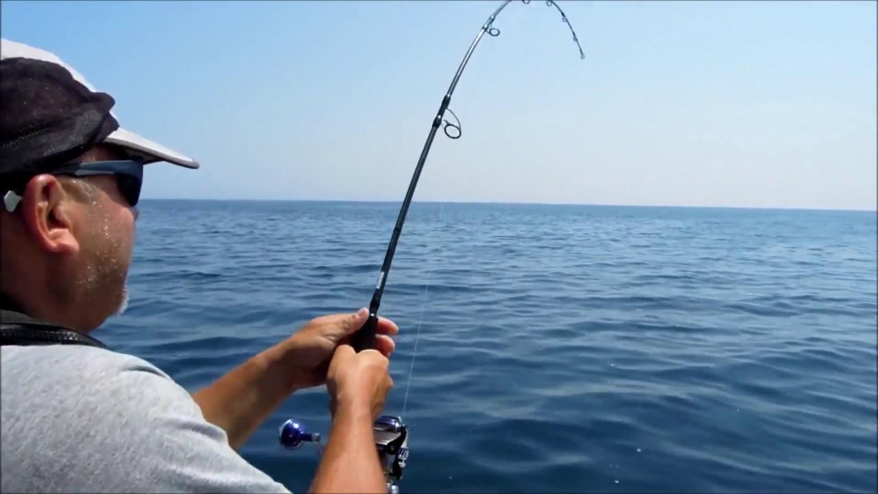 La pêche par le tour de main à la pose de vidéo