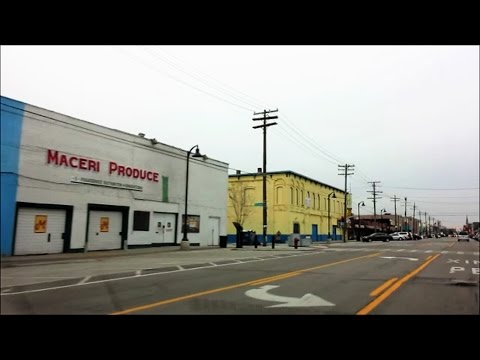 A GLIMPSE OF DETROIT'S FAMOUS EASTERN MARKET AREA