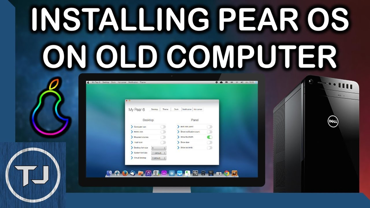 how to download a os onto a old pc