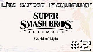 Super Smash Bros. Ultimate - World of Light Live Stream Playthrough #2 thumbnail