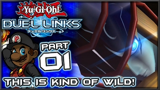 "Yugioh Duel Links Gameplay - Part 1 | ""THIS IS KIND OF HYPE, THOUGH"" (First Impressions)"