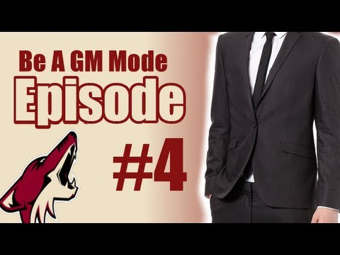 "NHL 13: Be a GM Mode - Phoenix Coyotes - Episode 4: ""Continuing the Sim"""