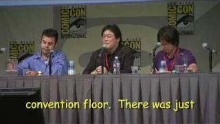 Park Chan-Wook in Hall H, Comic-Con 2009