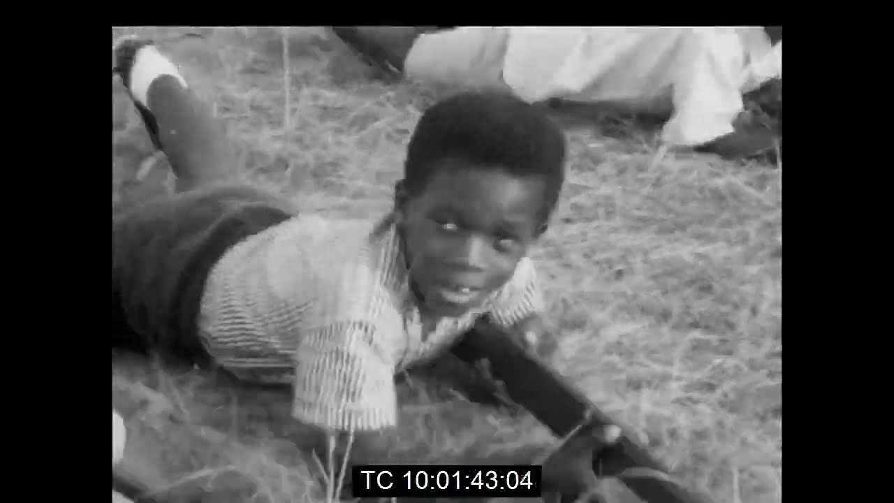 Biafran Children Train as Soldiers   During The  Nigerian Civil War   January