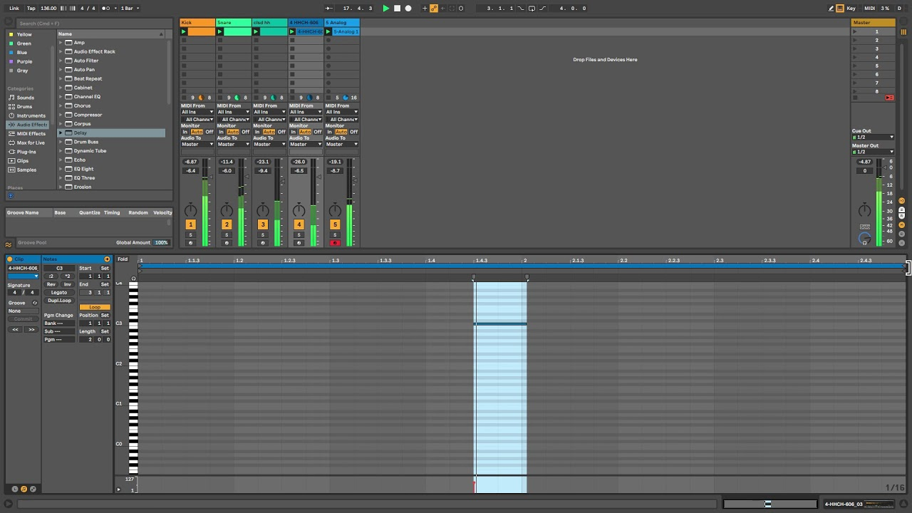 How To Make Electro | Ableton Live 10.1
