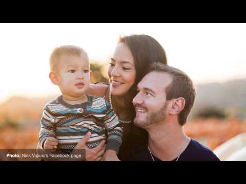 Motivational speaker Nick Vujicic on the power of staying positive