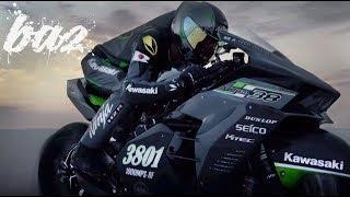 Kawasaki Ninja H2R Chinh Phục Tốc Độ 400Km/h Tại Thánh Địa Tốc Độ   BAZ Channel