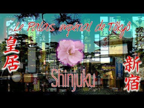 [JAPON] TÔKYÔ, PALAIS IMPERIAL ET SHINJUKU DE NUIT