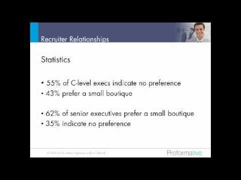 Building Recruiter Relationships That Work Webinar