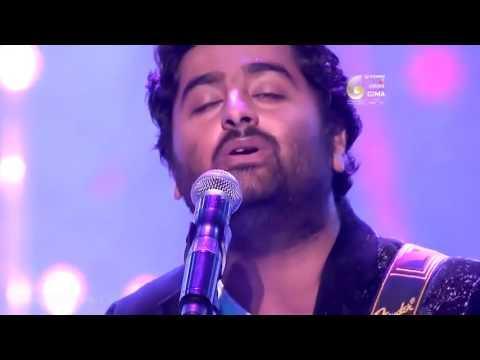 Arijit Singh Full Soulful Performance at GIMA Awards 2016LIVE AT PEACE