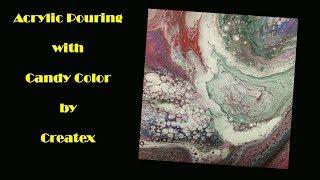 (Fluid192) الاختبار مع ألوان الحلوى من Createx