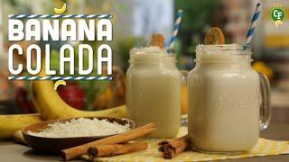 ¿cómo Preparar Banana Colada? - Cocina Fresca