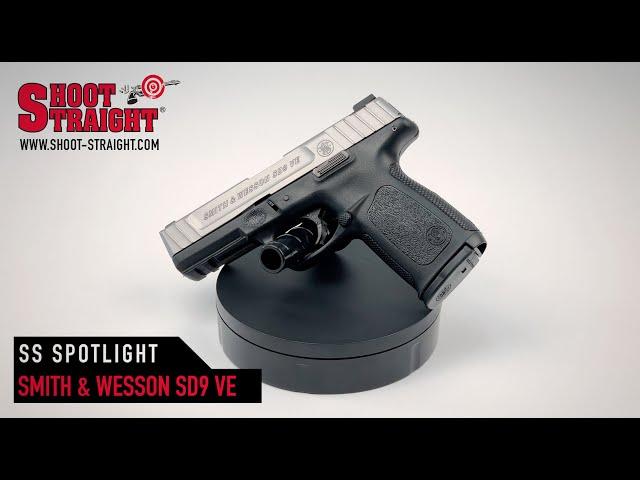 Smith & Wesson SD9 VE 9mm pistol - Shoot Straight Spotlight