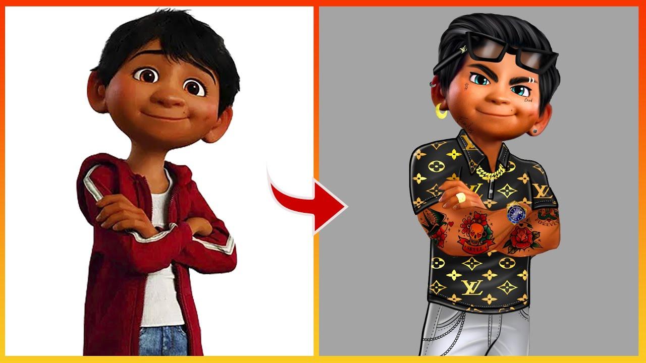 Coco Character Miguel Rivera Glow Up Into Rich Kid - Coco Disney Pixar