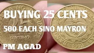 Buying 25 Cents SINO MAYRON Vlog#186