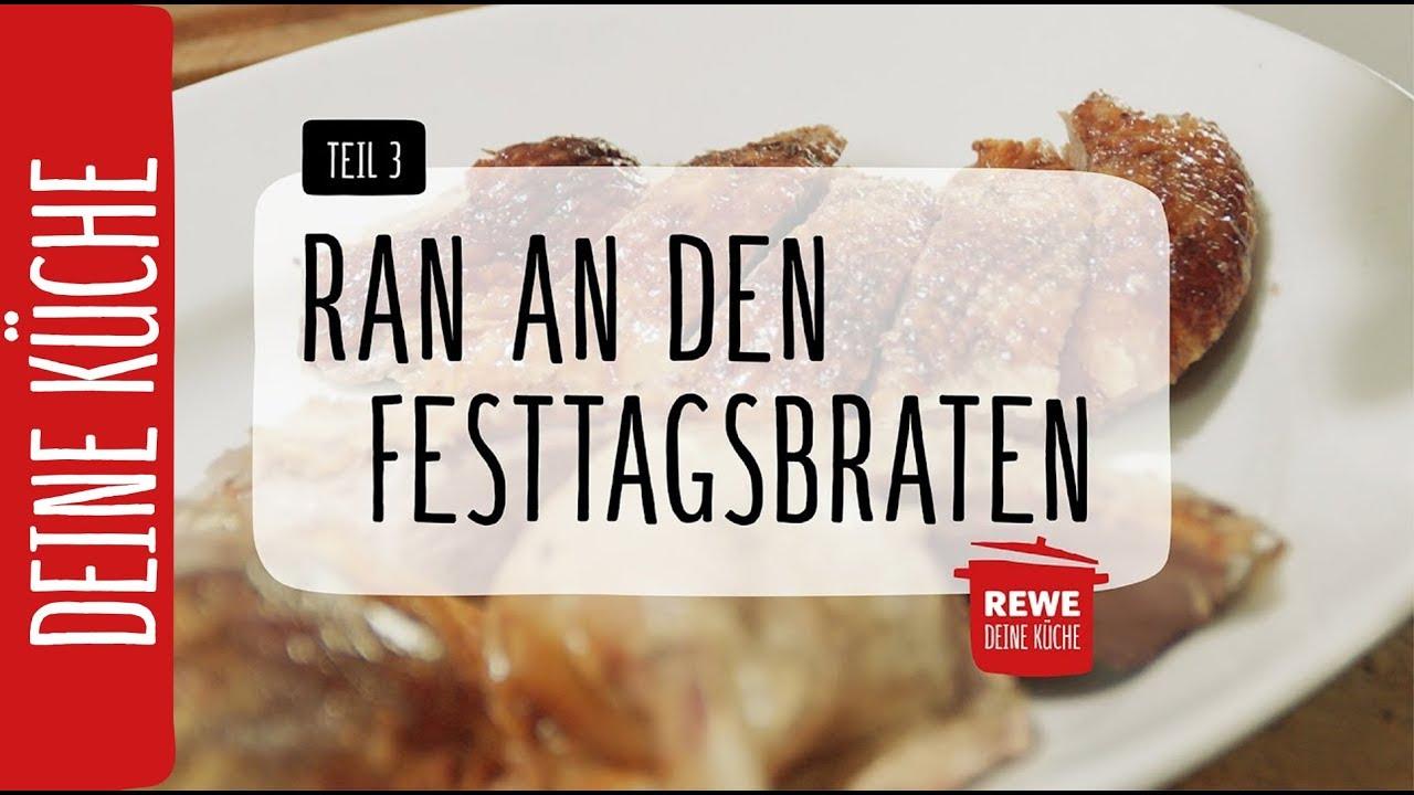 Rewe Deine Küche | Ran An Den Festtagsbraten Teil 3 Gansebraten Rewe Deine Kuche