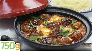 Tajine de kefta aux œufs - 750 Grammes