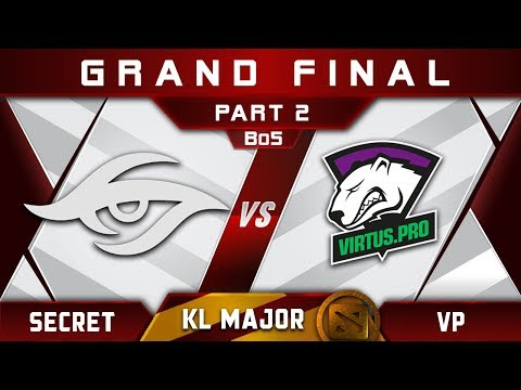 VP Vs Secret Grand Final Kuala Lumpur Major KL Major Highlights Dota 2 - [Part 2]