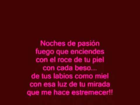 Me estoy enamorando Alejandro Fernandez (letra)