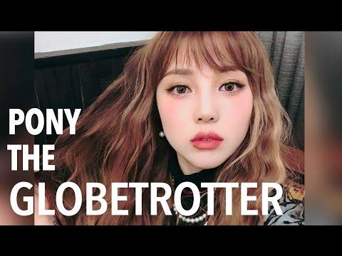 PONY THE GLOBETROTTER + GRWM (With subs) - TOKYO 포니 더 글로브 트롯터 + 이가리 메이크업 겟레디윗미 - 도쿄 편