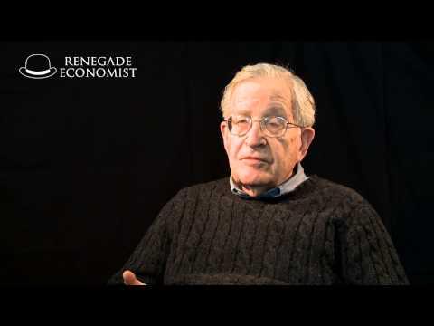 Prof Noam Chomsky - How to create a terrorist...