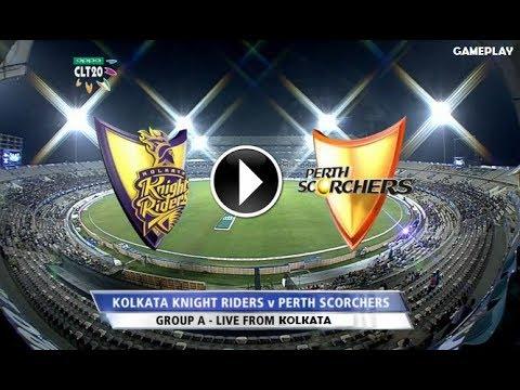 Kolkata Knight Riders vs Perth Scorchers CLT20 2014 gameplay