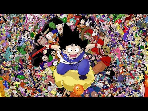 Drawing Every Dragon Ball Character (1000 HOUR DRAWING)