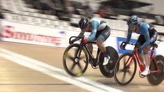 11月20日、静岡県伊豆ベロドロームにて全日本自転車競技選手権オムニア...