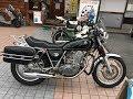 ダンストールマフラーサウンドを聞け 2005 YAMAHA SR400 2005 ヤマハ SR400 Cafe racer 和歌山県 カフェレーサーマシーン Ace Cafe  Dance Tall