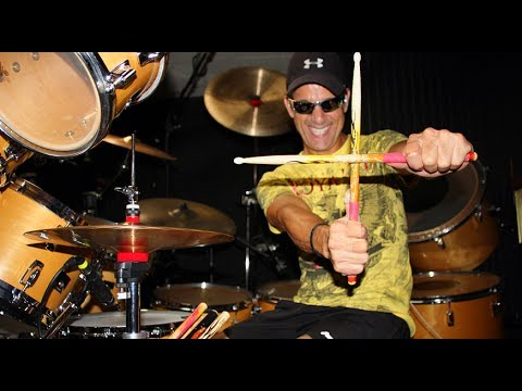 """Gino Vannelli - """"Feel Like Flying"""" Drum Cover Video From Brother To Brother"""