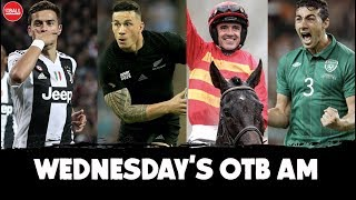 OTB AM LIVE | Stephen Kelly talks transfers & more, All Blacks, Galway tips, George Gibney latest |