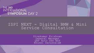 Day 02 - ISPI NEXT - Digital BMW and Mini Service Consultation