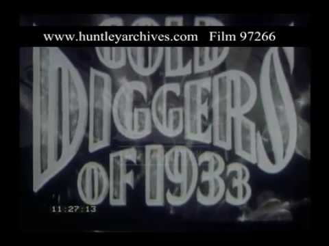 Gold Diggers Trailer, 1930s - Film 97266