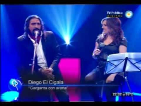 """Diego """"El Cigala"""" y Sole, sin ensayo... 29/09/2012"""