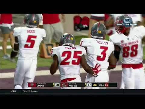 HIGHLIGHTS: New Mexico Lobos vs New Mexico State Aggies